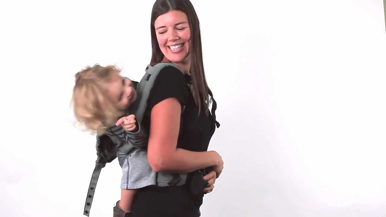 f9263b4d851 www.babymaxi.com   Instructions Boba Baby Carrier 4G - Back Carry - YouTube