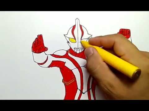 Cara Menggambar Ultraman Mebius Dengan Mudah Dan Cepat How To Draw