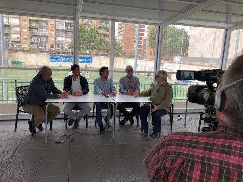 Tertulia en Ilusión Sport Center 23-04-18 (Betis B-FC Cartagena)