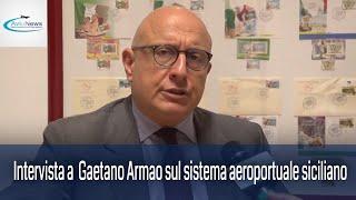 Intervista a Gaetano Armao sul sistema aeroportuale siciliano