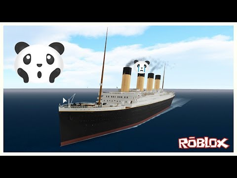 Batan Titanik Gemisinden Kurtul - Roblox Titanic 2.0