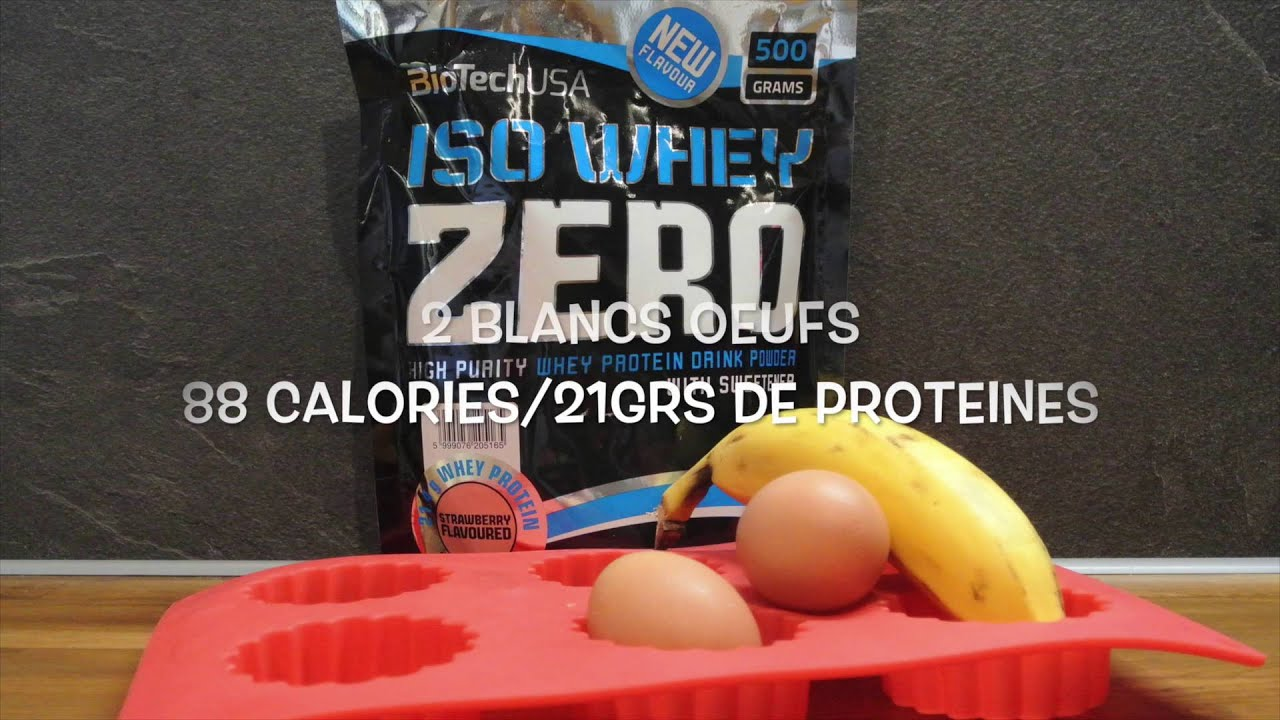 Gateau proteine sans whey