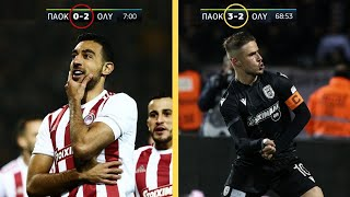 The Most DRAMATIC Matches in Greek Football - 2020