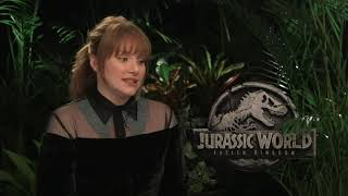 Bryce Dallas Howard reveals goal for 'Jurassic World 3'