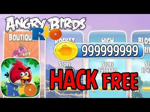 angry birds rio hack apk