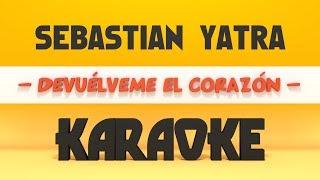 Baixar Sebastián Yatra - Devuélveme el Corazón (Karaoke)