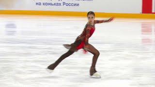 Произвольная программа Женщины Москва Кубок России по фигурному катанию 2020 21 Второй этап