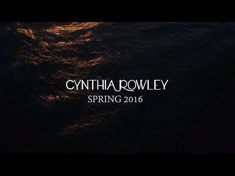 Spring 2016  Cynthia Rowley