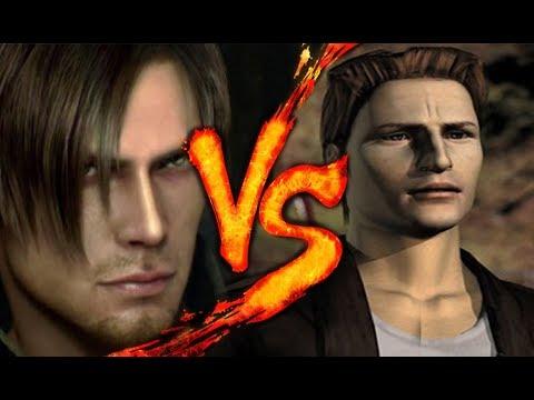 LEON SCOTT KENNEDY Vs. HARRY MASON | Resident Evil Vs. Silent Hill | BTH GAMES Ft. ALEROLF