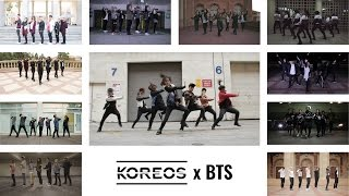 Video [Koreos] KOREOS X BTS Dance Cover Medley 방탄소년단 download MP3, 3GP, MP4, WEBM, AVI, FLV Agustus 2018