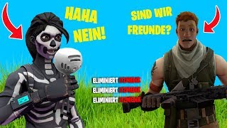 I try to find FRIENDS as NO SKIN in Fortnite!