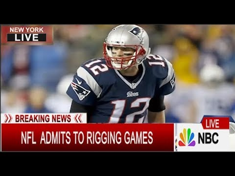 Breaking :  NFL Admits to Rigging Games for Super Bowl