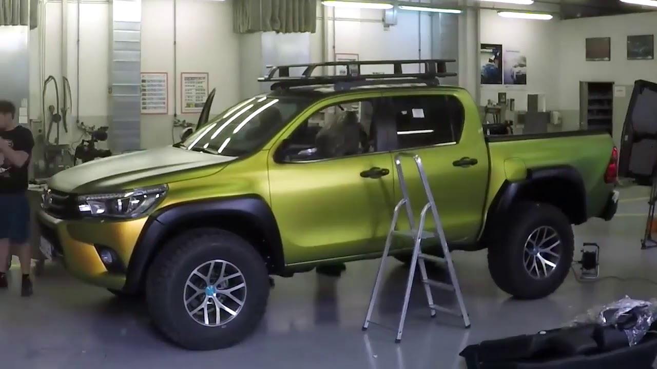 Toyota Land Cruiser 2017 >> Toyota HILUX - Pimp my ride edition - YouTube