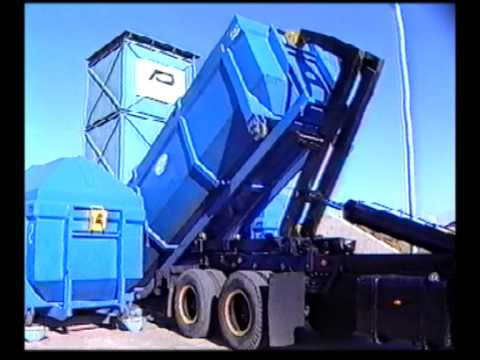 Historic Archive Film: The Duncan Andrew Anchorpac P60 compactor, 1985