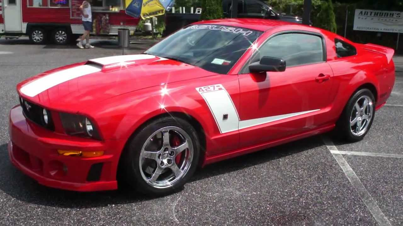 2007 ford mustang roush for sale original female owner. Black Bedroom Furniture Sets. Home Design Ideas