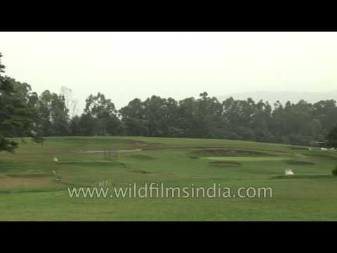 18 Hole Shillong Golf Course in Meghalaya, India