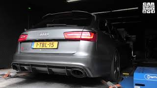 Audi RS6 C7 4.0 V8 with Milltek exhaust DYNO RUN! | WILL IT MAKE THE PROMISED 890 HP?