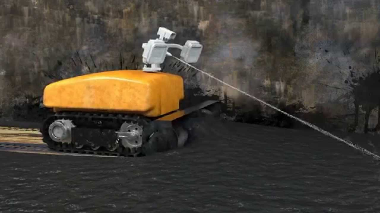 sludge beetle safe automatic cleaning robot for petroleum crude oil storage tanks oil tank cleaning equipment