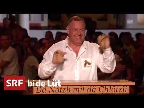 Dä Nötzli mit dä Chlötzli und Echo vom Kontrabass-Shop | SRF