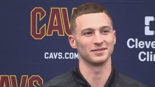 Cleveland Cavaliers introduce Dylan Windler, their No. 26 pick in the 2019 NBA Draft
