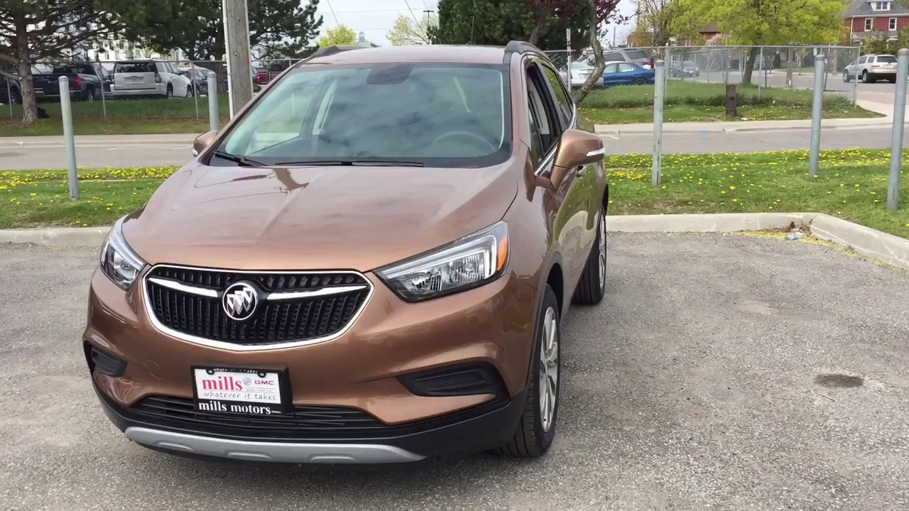 2017 buick encore fwd apple car play android auto brown oshawa on stock 171322 youtube. Black Bedroom Furniture Sets. Home Design Ideas