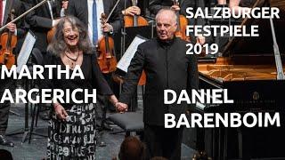 Martha Argerich und Daniel Barenboim bei den diesjährigen Salzburger Festspielen 2019