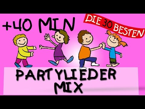 Der schönste Partylieder Mix || Kinderlieder