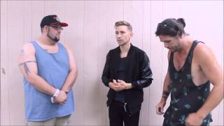 Family Force 5 interview At Rocking Gods House