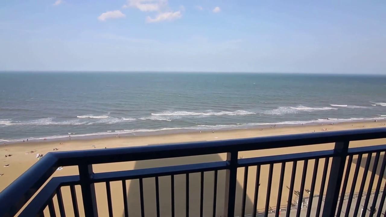 Video Review Of Room At Hyatt House Oceanfront Hotel In Va Beach