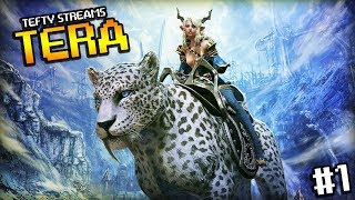 Tefty Streams TERA on PS4 - #sponsored - Episode 1