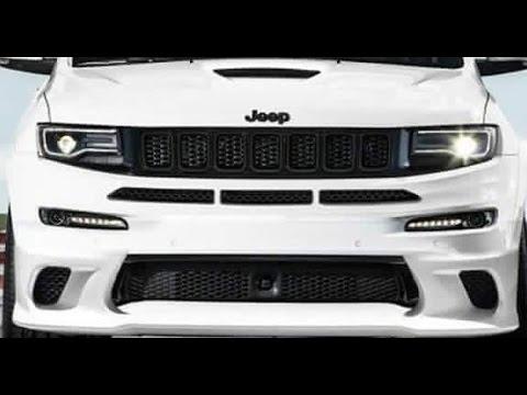 2017 Jeep Grand Cherokee Srt Trackhawk Hellcat