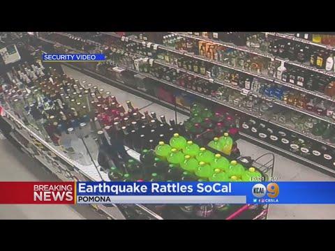 Earthquake Rattles Nerves Of La Verne Residents
