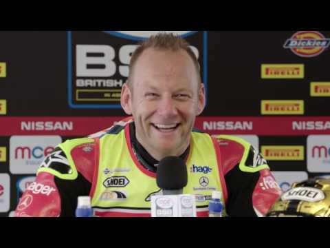 2016 MCE British Superbike Champion Shane Shakey Byrne