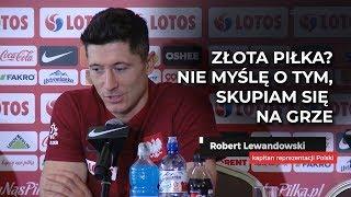 Lewandowski o Złotej Piłce: Podchodzę do tego z lekkim dystansem