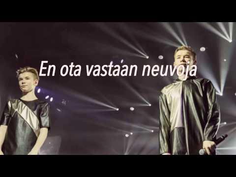 Marcus & Martinus - Ekko (finnish lyrics)