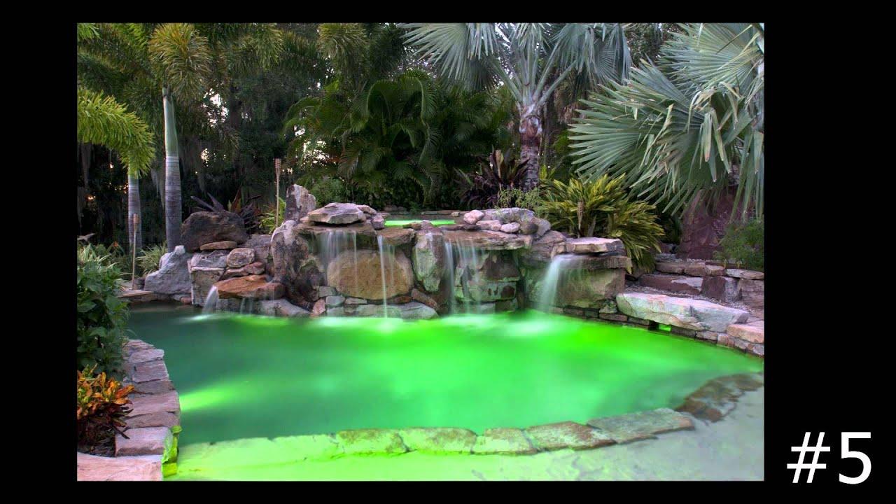 Top Ten Swimming Pools With Underwater Lighting By Lucas