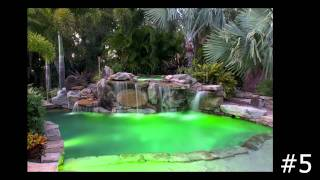 Top Ten Swimming Pools With Underwater Lighting By Lucas Lagoons, Expert In Pools In Sarasota
