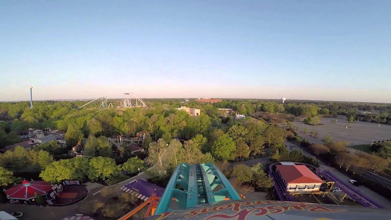 tempesto launch roller coaster