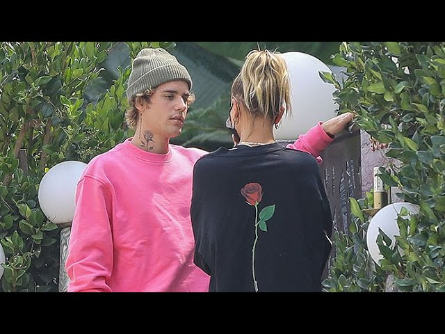 Hailey Baldwin's Rose Tee Matches Hubby Justin Bieber's New Neck Tattoo!
