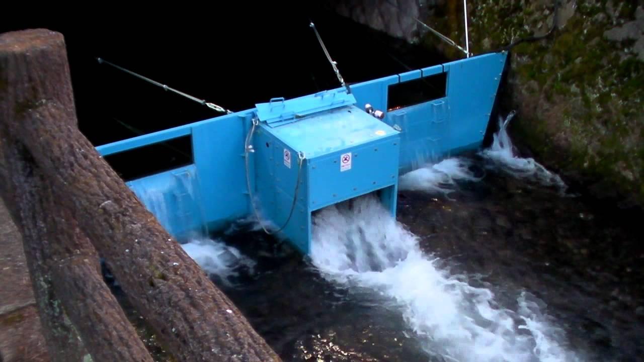 Ultra Low Head Micro Hydro Power Stream Youtube