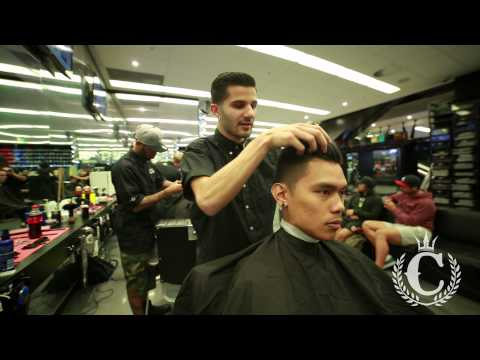 Culture Kings Barbershop- How To Style A Side Pomp