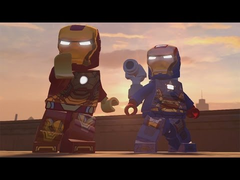 LEGO Marvel's Avengers - Manhattan 100% Free Play Guide - Slums (All Gold Bricks, characters etc.)