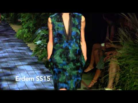 Erdem  SS15 at London Fashion Week