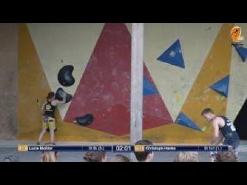 Deutscher Bouldercup (DBC) 2017 Halbfinale Zweibrücken, Camp 4 vom 28.5.2017