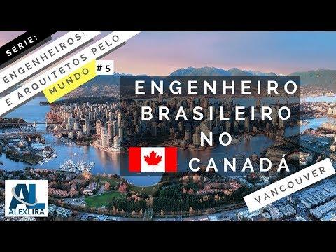 Engenheiro Brasileiro no Canadá (Vancouver)