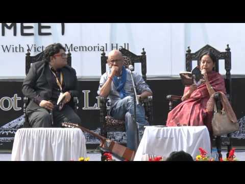 Shantanu Moitra at Tata Steel Kolkata Literary Meet 2015 -- Part 1