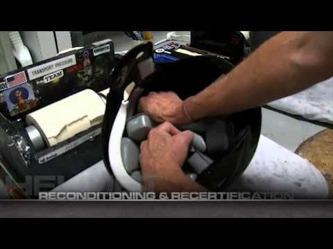 Reconditioning and Recertification of Football Helmets with Riddell
