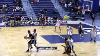 LHS Boys Basketball vs Andover 2017
