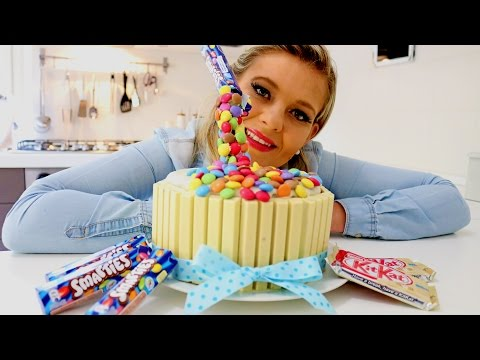 HOW TO MAKE AN ANTI GRAVITY CAKE - Lou Lou's Kitchen