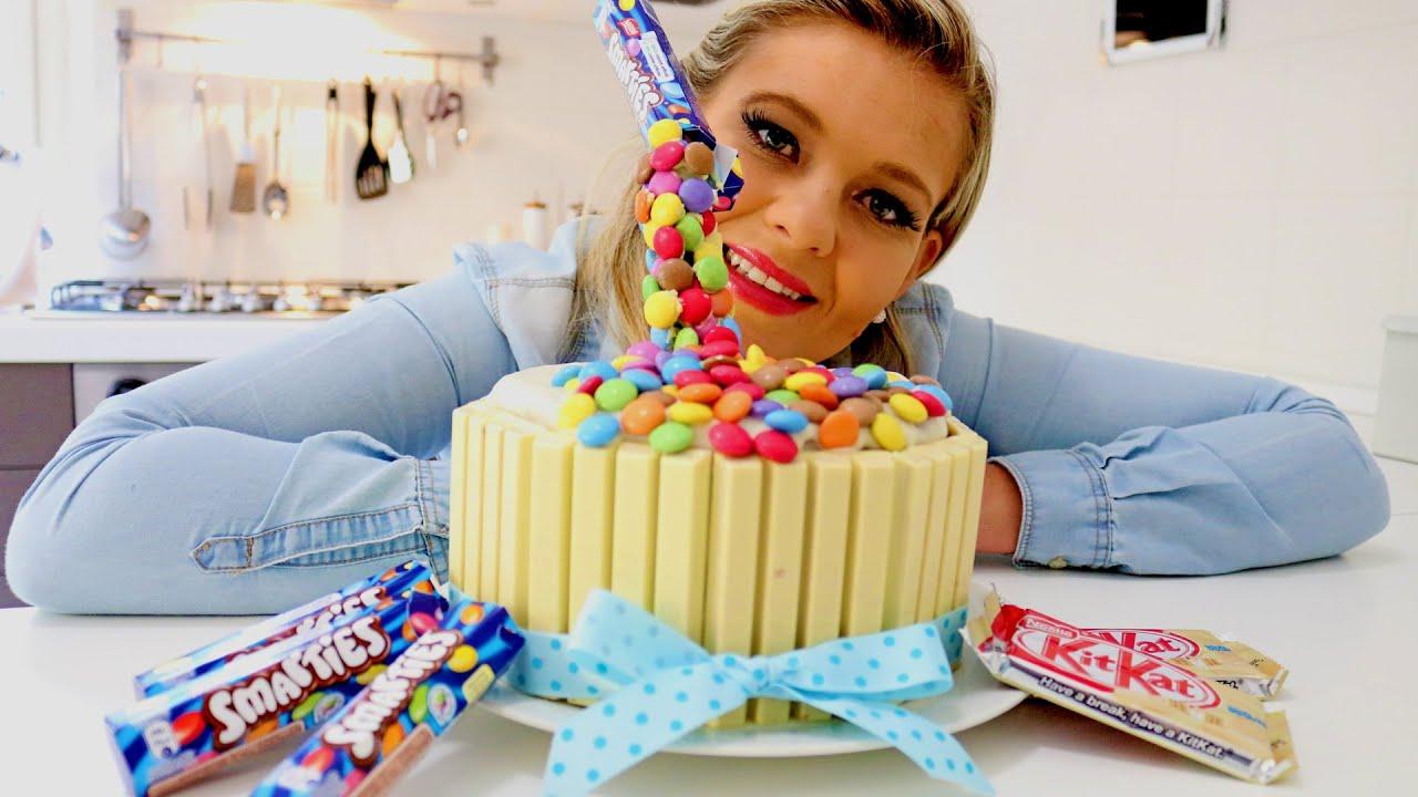 HOW TO MAKE AN ANTI GRAVITY CAKE Lou Lous Kitchen YouTube